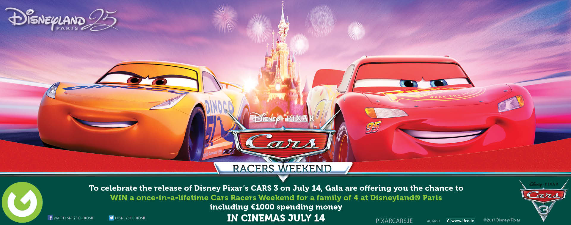 Enter Gala's Cars 3 Competition