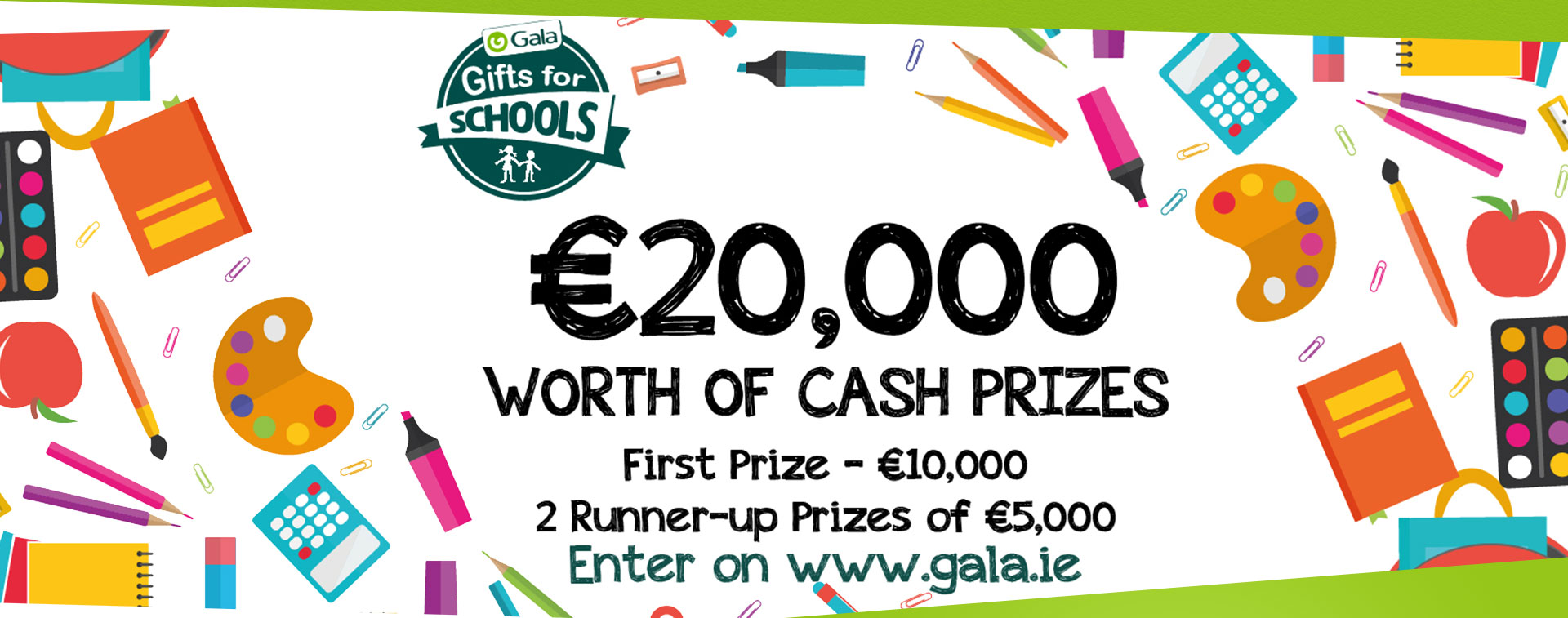 Enter Gala's Gifts for Schools Competition